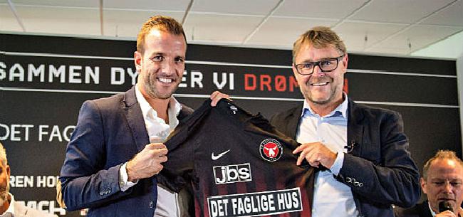 Foto: Rafael van der Vaart stopt per direct als profvoetballer