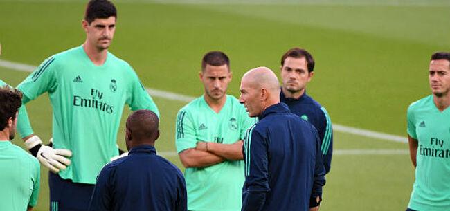 Foto: 'Zidane in alle staten: Courtois en Hazard moeten scheldtirade ondergaan'