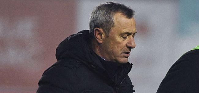 Foto: Beide coaches tevreden met punt bij Moeskroen - STVV