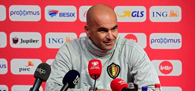 Foto: 'Martinez kiest voor enkele verrassingen in basisploeg tegen San Marino'