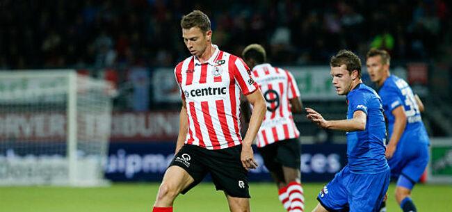 Foto: Overzicht verhuurde spelers: assist, goal en rode kaart