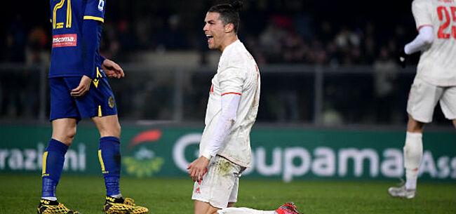Foto: 'Ronaldo furieus na nieuwe misstap Juventus'