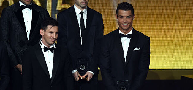 Foto: Uitspraak Ronaldo keert pijnlijk terug na nieuwe prijs Messi