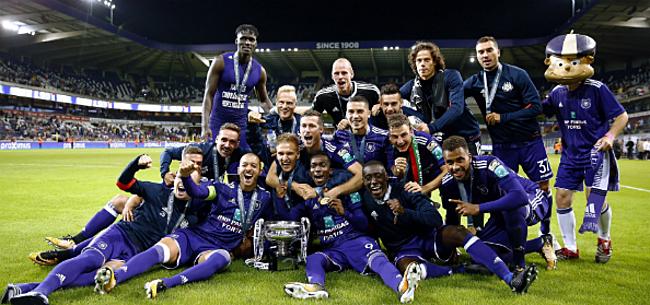 Foto: 'Anderlecht kan weer rekenen op titularis'