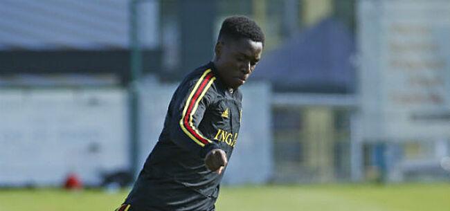 Foto: Mpoku ziet zeven jonge Belgen als potentiële Rode Duivels