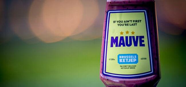 Foto: Anderlecht biedt 'Mauve Saus' nu ook online aan