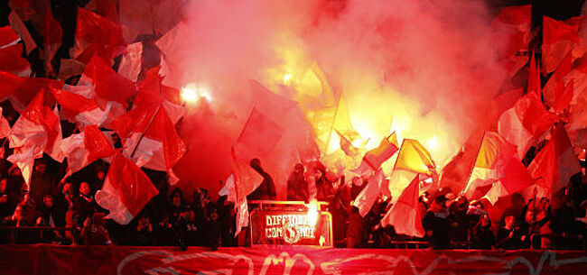 Foto: Standard-ultra's kondigen actie aan tegen 'corrupt' KV Mechelen