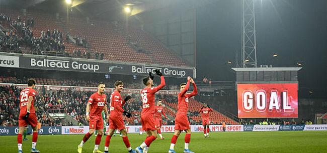 Foto: Standard en Zulte Waregem makkelijk door, KV Kortrijk toont veerkracht