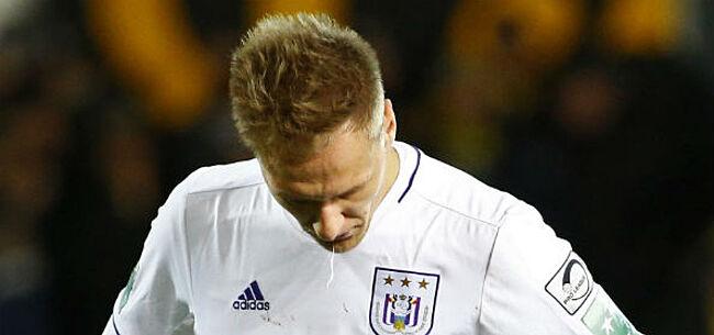 Foto: Anderlecht-spelers de mantel uitgeveegd: