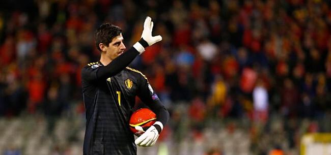 Foto: Courtois zet Spaanse pers op hun plaats: