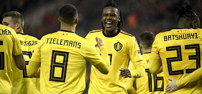 Foto: 'België krijgt voorstel van twee miljoen euro voor oefenmatch'