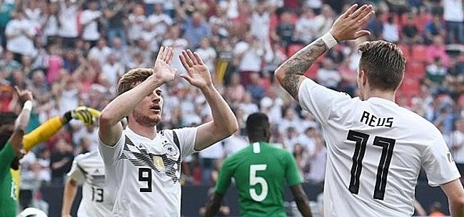 Foto: VIDEO: Duitsland leidt met 2-0 tegen Nederland na prachtige doelpunten