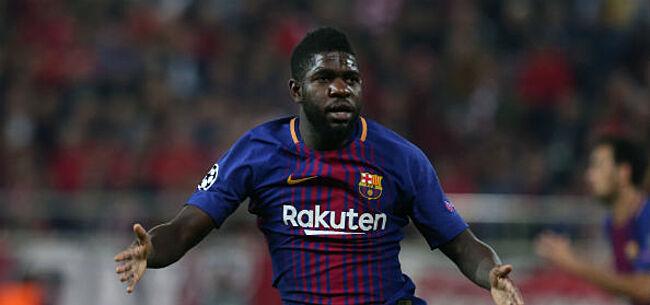 Foto: FC Barcelona meldt: Umtiti moet alweer revalideren