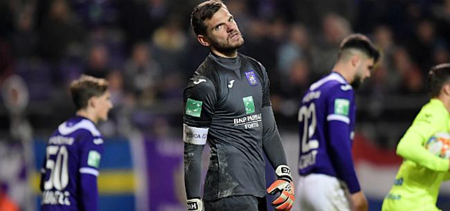 Foto: Anderlecht gooit zege tegen AA Gent in slotfase helemaal weg