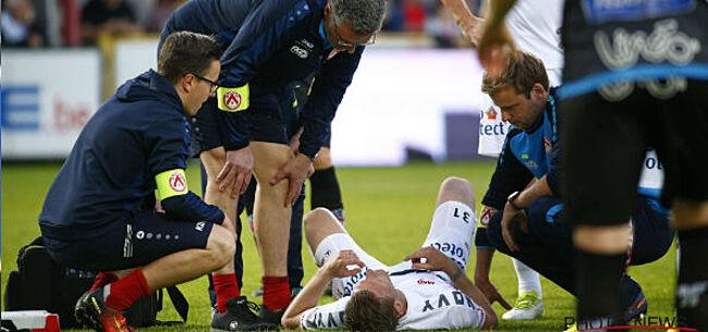 Foto: UPDATE: KV Kortrijk komt met geruststellend nieuws over Van Loo