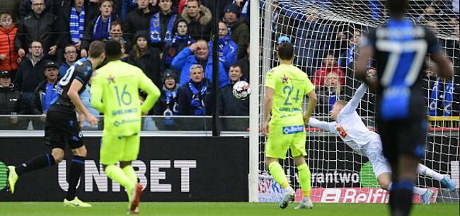Foto: Club Brugge op rozen tegen AA Gent: