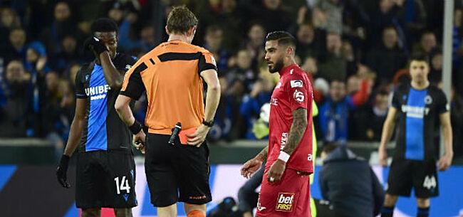 Foto: Club Brugge op 1-0 en Vargas krijgt rood: