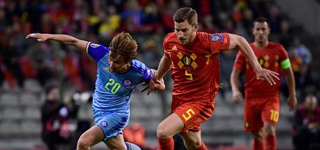 Foto: Belgische fans teleurgesteld: