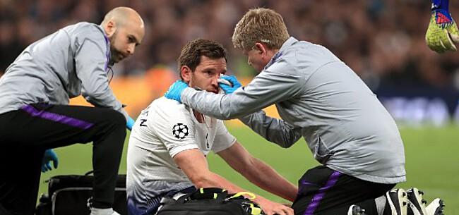 Foto: 'Tottenham maakt zich geen zorgen om finale-kansen Vertonghen'