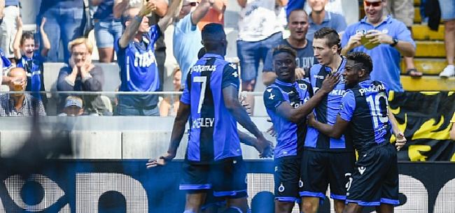 Foto: HAHA! Club Brugge dan toch actief in de Champions League?