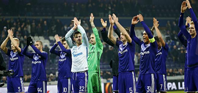 Foto: Belgische clubs bezig aan strafste Europese parcours in 5 jaar, RSCA beste Belgische club