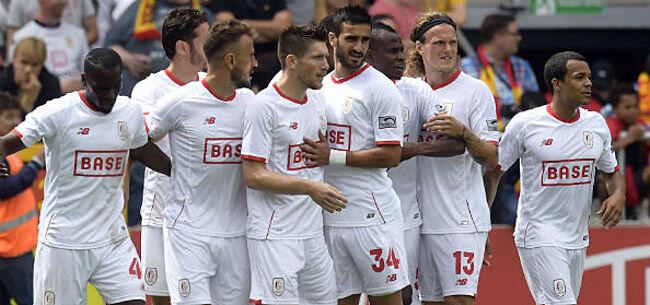 Foto: Cercle Brugge ving bot bij Standard: