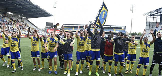Foto: STVV-fans haken vreemd genoeg af: