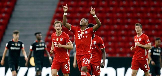 Foto: Bayern viert de dubbel na vlotte zege tegen Leverkusen in bekerfinale