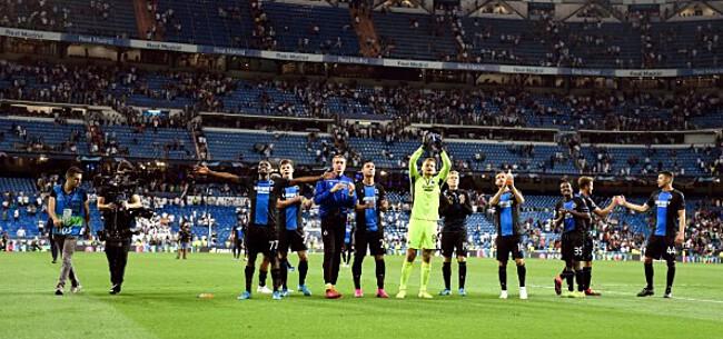 Foto: VERSLAG: De stunt van Club Brugge tussen de fans van Real Madrid