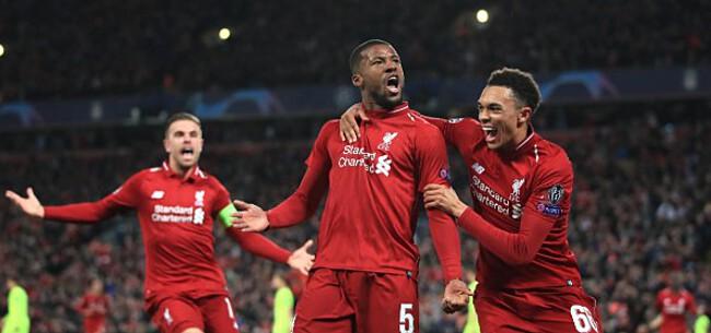 Foto: Origi schiet Liverpool naar CL-finale na onwaarschijnlijke comeback tegen Barça