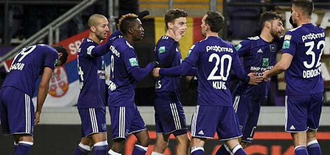 Foto: Anderlecht-speler maakt indruk: