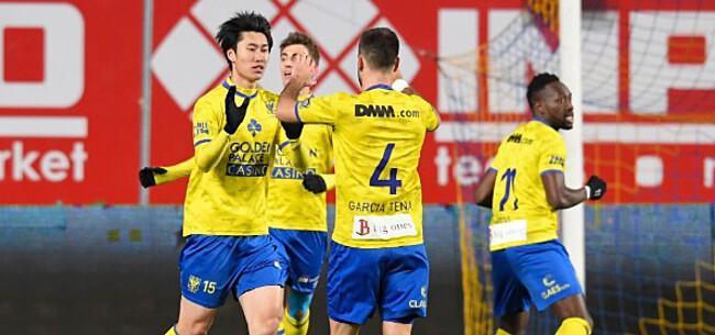 Foto: STVV krabt zich in de haren, fans blijven maar weg
