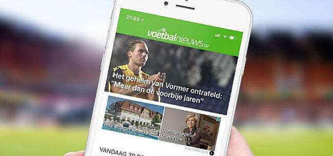 Foto: Download nu de GRATIS VoetbalNieuws iPhone app!