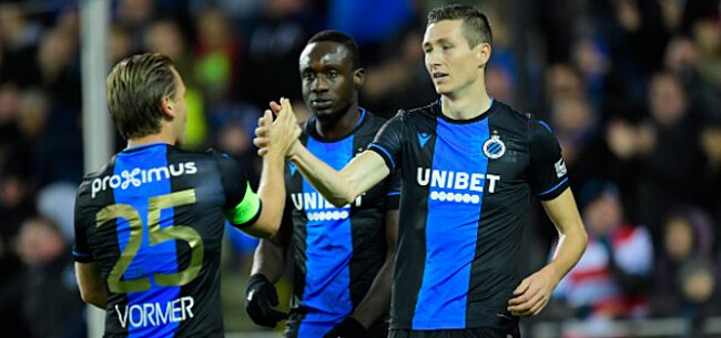 Foto: Diagne krijgt openlijk steun van ploegmaats, ook Club-fans genadig