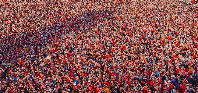 Foto: Waanzinnige beelden vanuit Werchter: 100.000 man voor de Rode Duivels