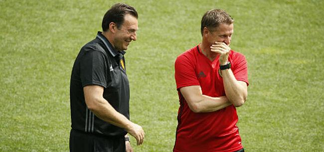 Foto: 'Borkelmans bondscoach dankzij Wilmots'