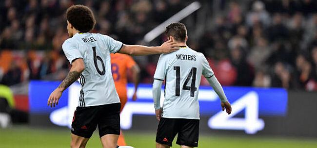 Foto: Stoppen Mertens en Witsel na het WK met de Rode Duivels?