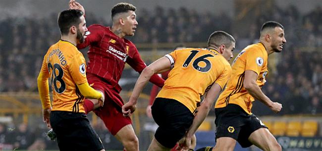 Foto: Firmino bezorgt Liverpool ultieme zege bij Wolves en Dendoncker