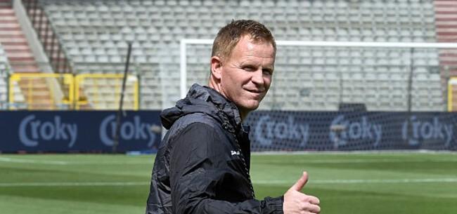Foto: Vrancken geeft de ambitie van KV Mechelen prijs