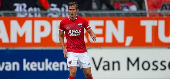 Foto: AZ neemt afscheid van Belgische verdediger