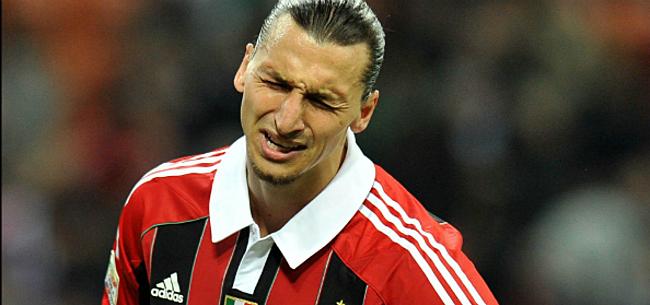 Foto: Ibrahimovic moet nog even wachten op zijn debuut bij AC Milan