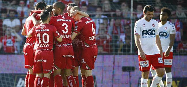 Foto: Zulte Waregem wint derby bij KV Kortrijk en is bijna zeker van finale PO II
