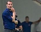 Foto: Priske blijft kritisch over spel Antwerp