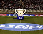 Foto: Loting 1/8 finale: KRC Genk-Club Brugge absolute topaffiche