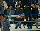 Foto: Bekervoetbal overschaduwd: twee supporters gereanimeerd