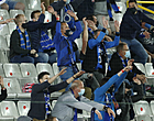 Foto: 'Brugse fans lapten coronaregels aan hun laars voor match tegen Lazio'