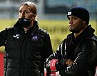 Foto: Anderlecht verwelkomt nieuw gezicht op training