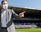 Foto: Anderlecht gaat uit de bocht met coronacommunicatie