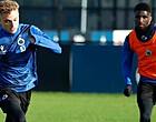 Foto: Lang schittert meteen op training bij Club Brugge (🎥)