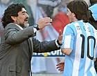 Foto: Zoon Maradona komt met opmerkelijk verzoek voor Messi